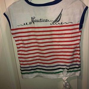 Think twins: 2 Nautica sleevless girls 3T tshirt